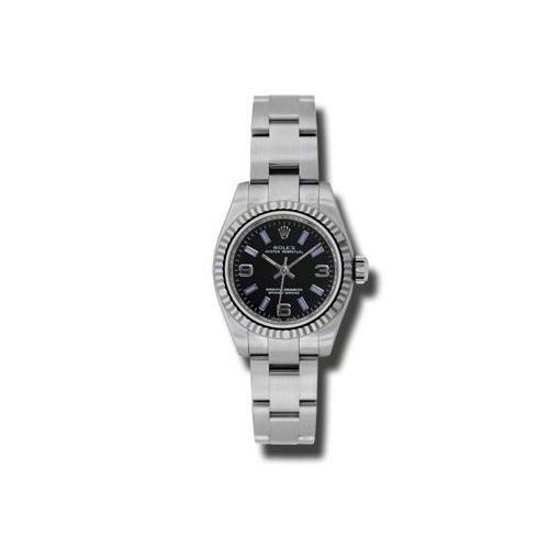 Oyster Perpetual 26mm Fluted Bezel 176234 bkablio