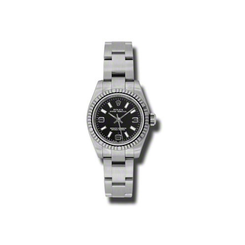 Oyster Perpetual 26mm Fluted Bezel 176234 bkaio