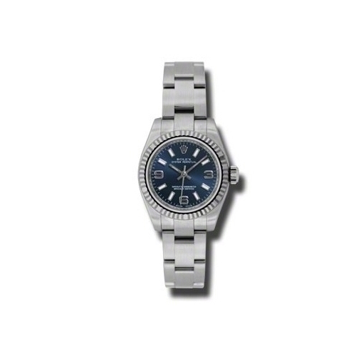 Oyster Perpetual 26mm Fluted Bezel 176234 blaio