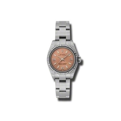 Oyster Perpetual 26mm Fluted Bezel 176234 paio