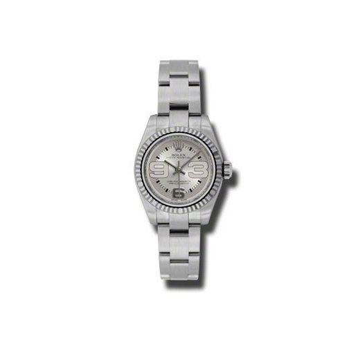 Oyster Perpetual 26mm Fluted Bezel 176234 smao