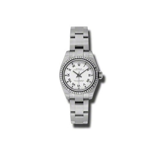 Oyster Perpetual 26mm Fluted Bezel 176234 wbkro