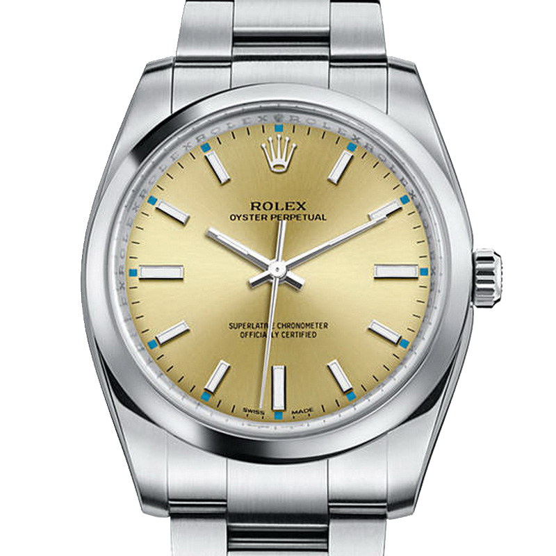 Oyster Perpetual 34 114200-0022 (Stainless Steel)