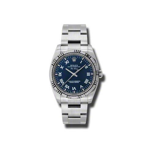 Oyster Perpetual Air-King 34mm Fluted Bezel 114234 blro
