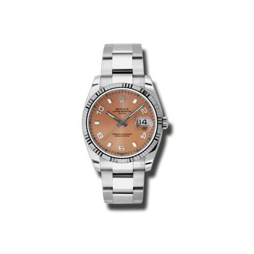Oyster Perpetual Date 34mm Fluted Bezel 115234 pao