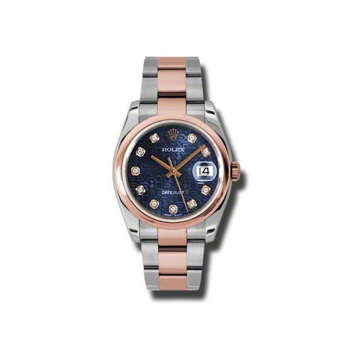 Oyster Perpetual Datejust 36mm 116201 bljdo