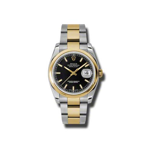 Oyster Perpetual Datejust 36mm 116203 bkso