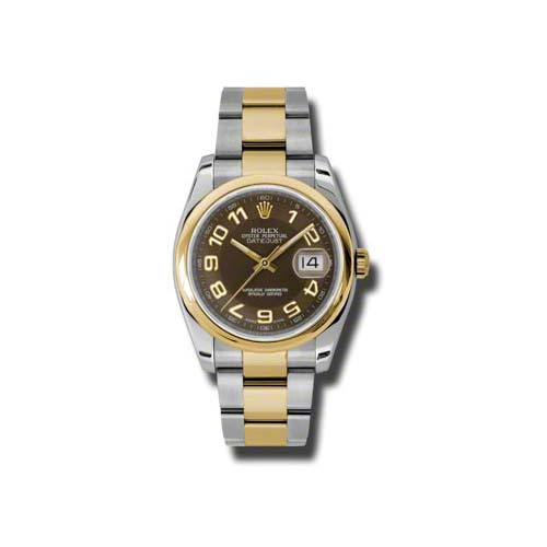 Oyster Perpetual Datejust 36mm 116203 brao