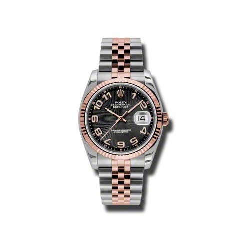 Oyster Perpetual Datejust 36mm Fluted Bezel 116231 bkcaj