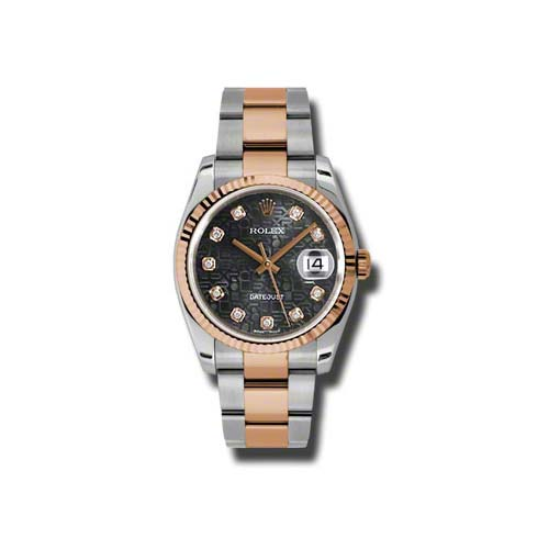 Oyster Perpetual Datejust 36mm Fluted Bezel 116231 bkjdo