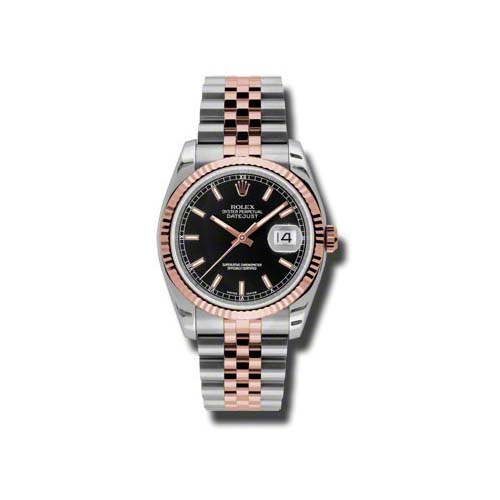 Oyster Perpetual Datejust 36mm Fluted Bezel 116231 bksj