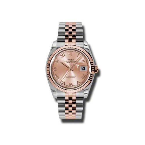 Oyster Perpetual Datejust 36mm Fluted Bezel 116231 chrj