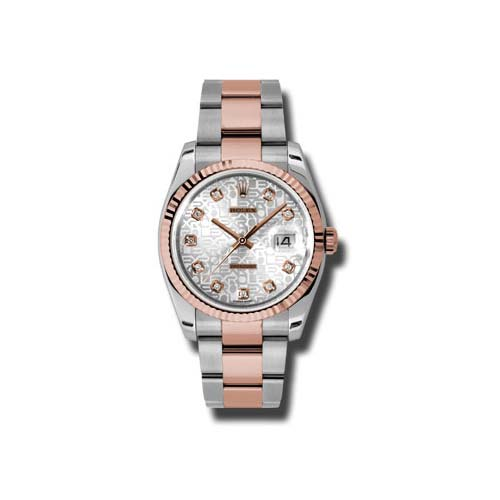 Oyster Perpetual Datejust 36mm Fluted Bezel 116231 sjdo