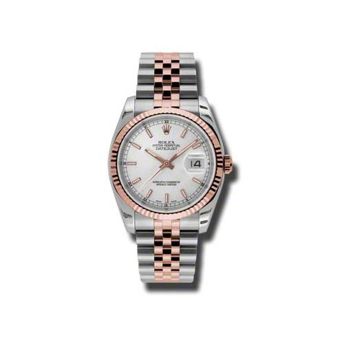 Oyster Perpetual Datejust 36mm Fluted Bezel 116231 ssj