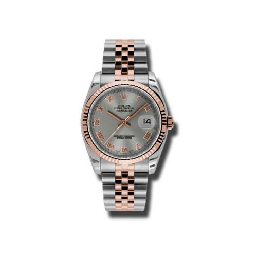 Oyster Perpetual Datejust 36mm Fluted Bezel 116231 strj