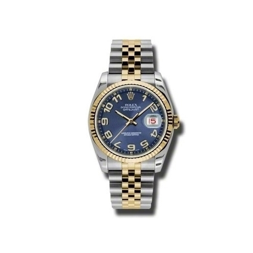 Oyster Perpetual Datejust 36mm Fluted Bezel 116233 blcaj