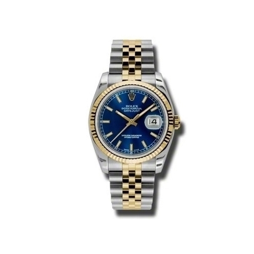 Oyster Perpetual Datejust 36mm Fluted Bezel 116233 blsj