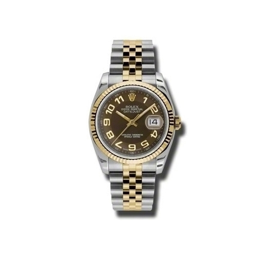 Oyster Perpetual Datejust 36mm Fluted Bezel 116233 braj