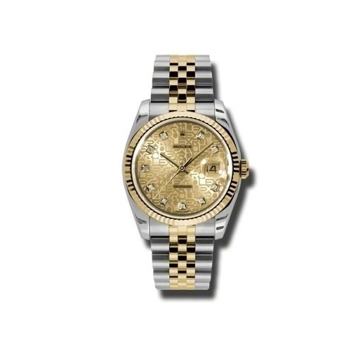 Oyster Perpetual Datejust 36mm Fluted Bezel 116233 chjdj