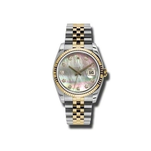 Oyster Perpetual Datejust 36mm Fluted Bezel 116233 dkmdj