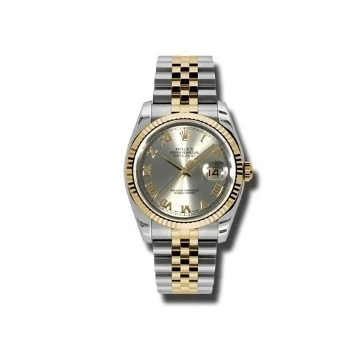 Oyster Perpetual Datejust 36mm Fluted Bezel 116233 grj