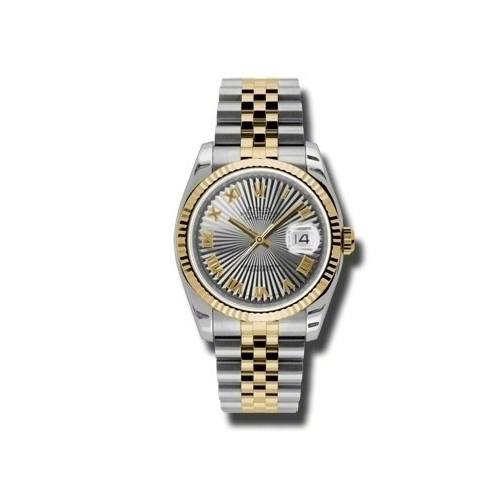 Oyster Perpetual Datejust 36mm Fluted Bezel 116233 gsbrj