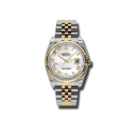 Oyster Perpetual Datejust 36mm Fluted Bezel 116233 mrj