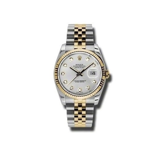 Oyster Perpetual Datejust 36mm Fluted Bezel 116233 sdj