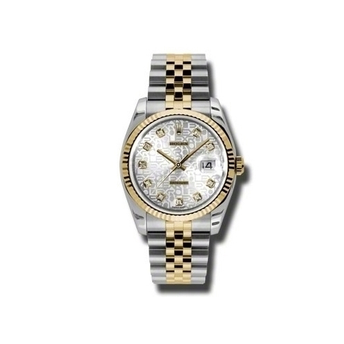 Oyster Perpetual Datejust 36mm Fluted Bezel 116233 sjdj