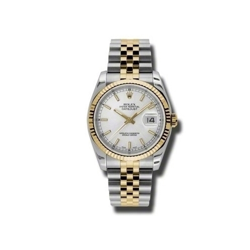 Oyster Perpetual Datejust 36mm Fluted Bezel 116233 ssj