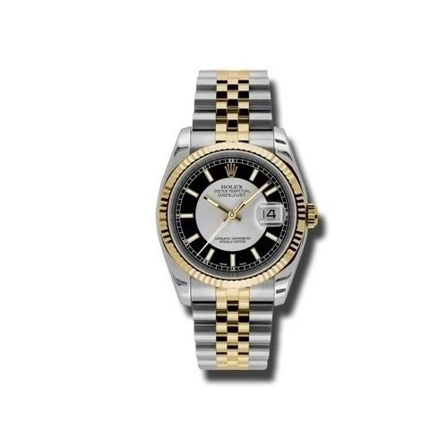Oyster Perpetual Datejust 36mm Fluted Bezel 116233 stbksj
