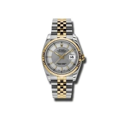 Oyster Perpetual Datejust 36mm Fluted Bezel 116233 stsisj