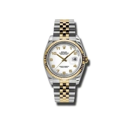 Oyster Perpetual Datejust 36mm Fluted Bezel 116233 waj