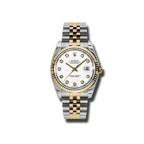 Oyster Perpetual Datejust 36mm Fluted Bezel 116233 wdj