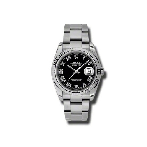 Oyster Perpetual Datejust 36mm Fluted Bezel 116234 bkro