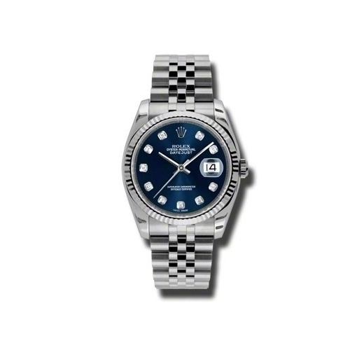Oyster Perpetual Datejust 36mm Fluted Bezel 116234 bldj