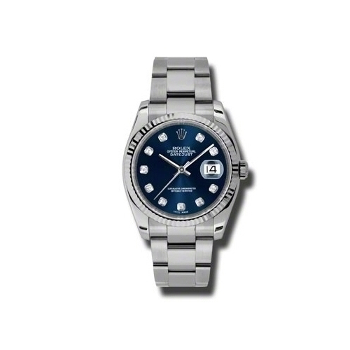 Oyster Perpetual Datejust 36mm Fluted Bezel 116234 bldo