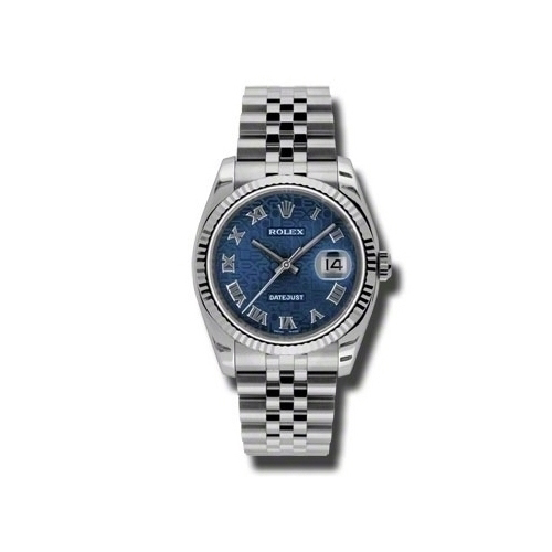 Oyster Perpetual Datejust 36mm Fluted Bezel 116234 bljrj