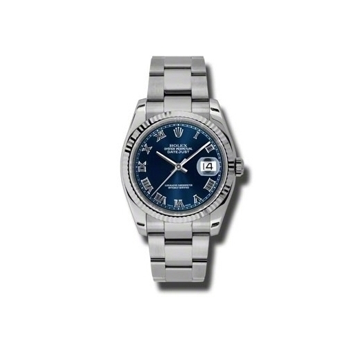 Oyster Perpetual Datejust 36mm Fluted Bezel 116234 blro