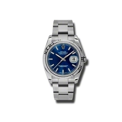 Oyster Perpetual Datejust 36mm Fluted Bezel 116234 blso