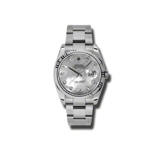 Oyster Perpetual Datejust 36mm Fluted Bezel 116234 mdo
