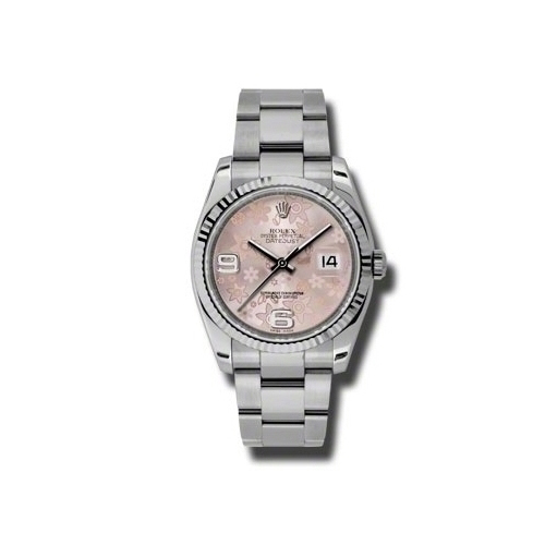 Oyster Perpetual Datejust 36mm Fluted Bezel 116234 pfao