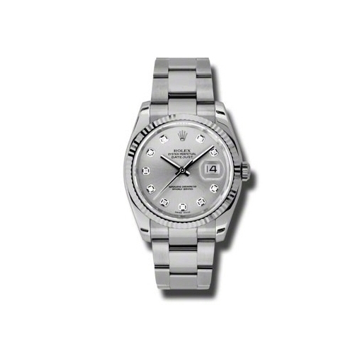 Oyster Perpetual Datejust 36mm Fluted Bezel 116234 sdo