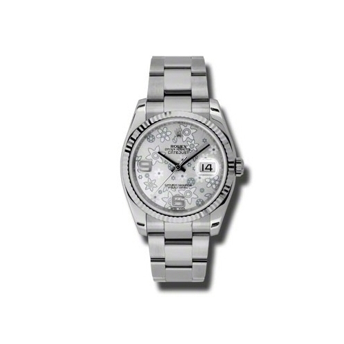 Oyster Perpetual Datejust 36mm Fluted Bezel 116234 sfao