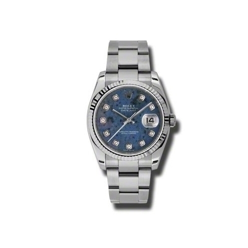 Oyster Perpetual Datejust 36mm Fluted Bezel 116234 sodo