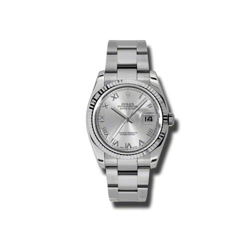 Oyster Perpetual Datejust 36mm Fluted Bezel 116234 sro