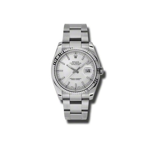 Oyster Perpetual Datejust 36mm Fluted Bezel 116234 sso