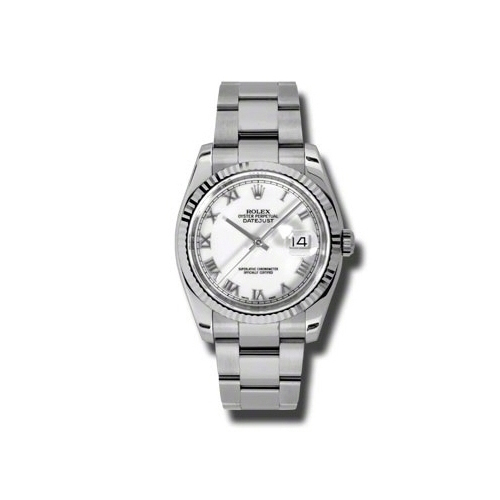 Oyster Perpetual Datejust 36mm Fluted Bezel 116234 wro