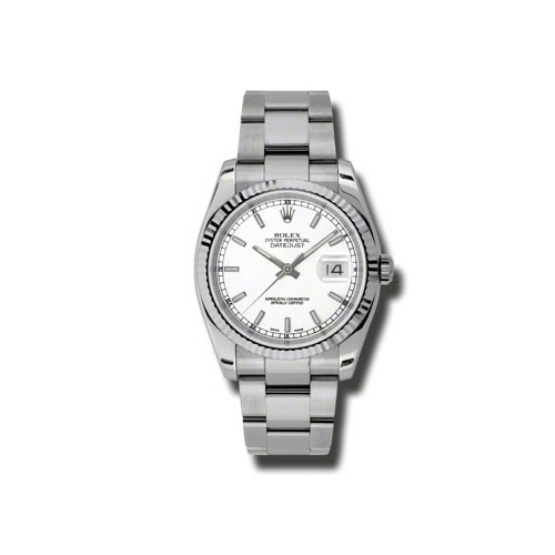 Oyster Perpetual Datejust 36mm Fluted Bezel 116234 wso