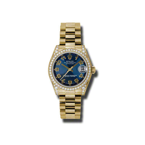 Oyster Perpetual Datejust 178158 blcap